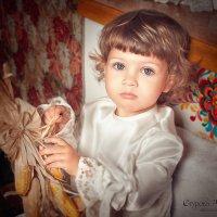 Маленькая крестьянка :: Alena Sturova