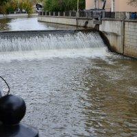 Водопад на Яузе. :: Oleg4618 Шутченко