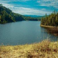 Горное озеро :: Иван Янковский