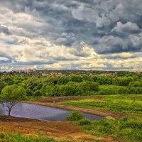 Вид на Серпухов от Высоцкого монастыря :: mila