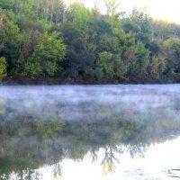 Туман над Окой. :: Борис Митрохин