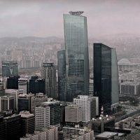 Небоскрёбы Сеула. Вид из здания 63 :: Tatiana Belyatskaya