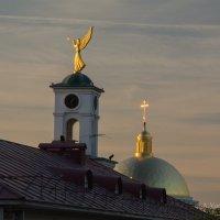 Прогулка по Нижнему. На закате. :: Андрей Ванин