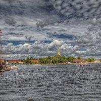 Вид на остров Заячий :: Вячеслав Мишин