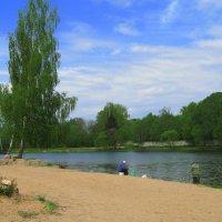 Рыбалка на Ключевом озере. :: Александр Атаулин