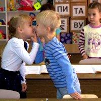 А мне мама целоваться не велит...... :: ОЛЬГА КОСТИНА