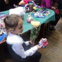 На мастер классе сделала куколку сама...в Краеведческом музее г. Люберцы :: Ольга Кривых