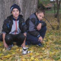 Однако, осень во дворе :: Tatyana Kuchina