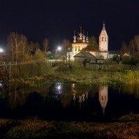 Про ночь, храм , реку и козий мостик :: Игорь Маснык