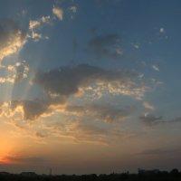 Рассвет над Евпаторией :: Татьяна Сухова