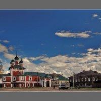 в Угличе, в Богоявленском Угличском монастыре :: Дмитрий Анцыферов