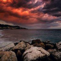 / Эпичный закат на лазурном побережье... / :: Юрий Морозов