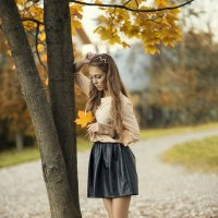 Осенний каприз :: Женя Рыжов