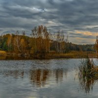 Осень.Вечер. :: Владимир Фисенко