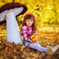 Осенняя пора у Ангелины :: Анна Дрючкова