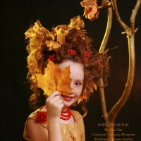 Осенний портрет. Ева :: Римма Алеева