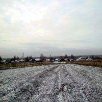 Утро 8 октября. Первый снег на Красной Горе :: Николай Туркин