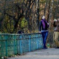 Фотомодель и озеро. :: Олег Пучков
