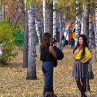 Двойная фотосессия в парке. :: cfysx