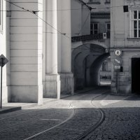 Трамвайный путь :: Владимир Брагин