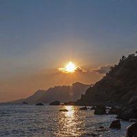Морской закат. Фото 2. :: Вячеслав Касаткин