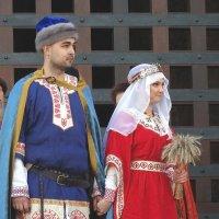 """""""Молодые"""" - князь и княгиня Фото №4 :: Владимир Бровко"""