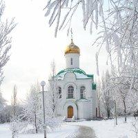 Храм Бориса и Глеба зимой :: Александр Алексеев