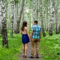 """Прогулка в """"березовом лесу"""" :: Дмитрий Сахнов"""