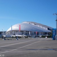 Олимпийский парк. Большой Ледовый дворец :: Нина Бутко