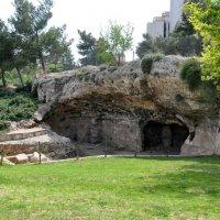 Пещера,где погребена семья Ирода,по его же приказу уничтоженная :: Евгений Дубинский