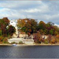 Снетогорский женский монастырь. Река Великая. :: Fededuard Винтанюк