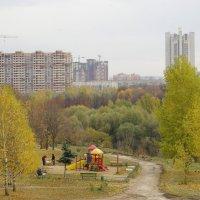 Осенняя Москва. :: Александр Атаулин