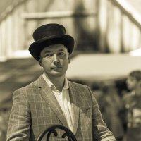 Уличный музыкант... :: Sergey Apinis