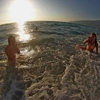 купание на закате :: АННЕТТА ФОТОМОДЕЛЕЛЮБИТЕЛЬ