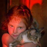 Бу и Киса :: Виктория Воробьева (Wish)