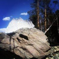 Весенние  горы Качканара :: Мария Попова