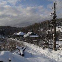 Первый снег в октябре :: Валерий Чепкасов