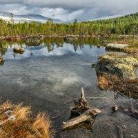 Горное озеро 2 :: Алексей Видов