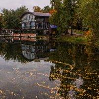 В старом парке царствовала осень... :: Альмира Юсупова