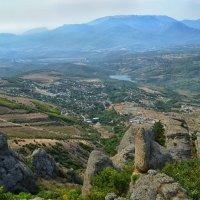 Вид с вершины Демерджи :: Marina Timoveewa