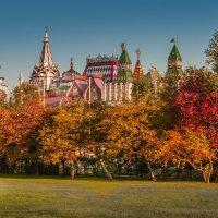 Осень в Измайловском парке :: Александр Лебедев