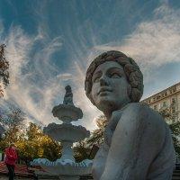 А прямо перед взором- Тверской бульвар :: Ирина Данилова