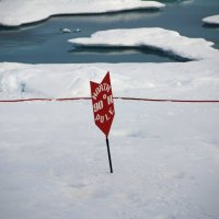 Географическая точка Северного Полюса Земли :: Tatiana Belyatskaya
