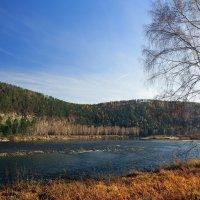 Несет свои воды Иркут навстречу сестре Ангаре... :: Александр Попов