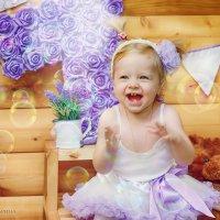 День рожденская фотосессия малышки :: марина алексеева