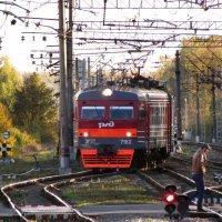 Поезд из осени... :: Ирина Румянцева