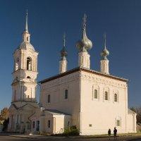 Суздаль. Церковь Смоленской иконы Божьей Матери. :: Андрей Ванин