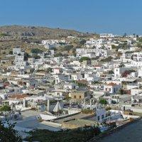 Греция, Родос, г.Линдос :: Лев