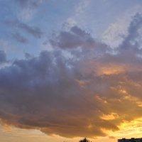 Огненный закат осени1 :: Ольга Гукова