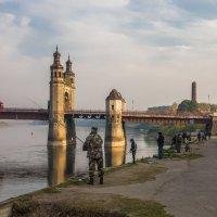 Ловля рыбца в реке Неман :: Игорь Вишняков